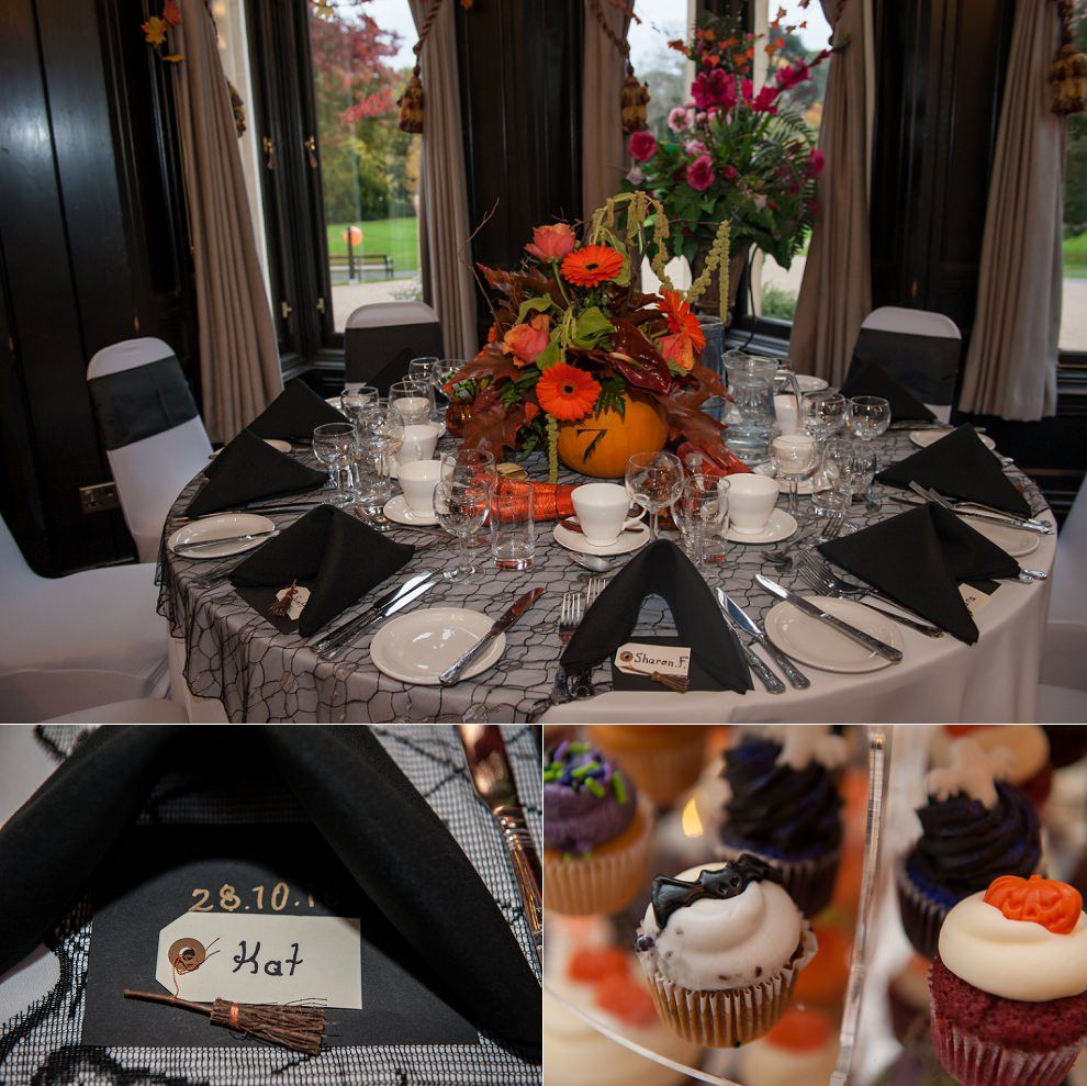 Wedding decoration ideas in the house  Halloween wedding table for Stephens House Halloween wedding