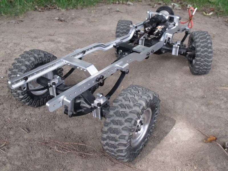 GCM 4TEN Leaf Spring Scale Truck Chassis - Scale 4x4 | the R/C ...
