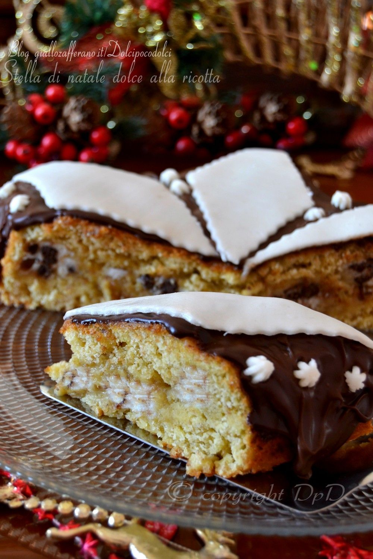 Dolce Stella Di Natale Ingredienti.Stella Di Natale Dolce Alla Ricotta Ricetta Food Food Food