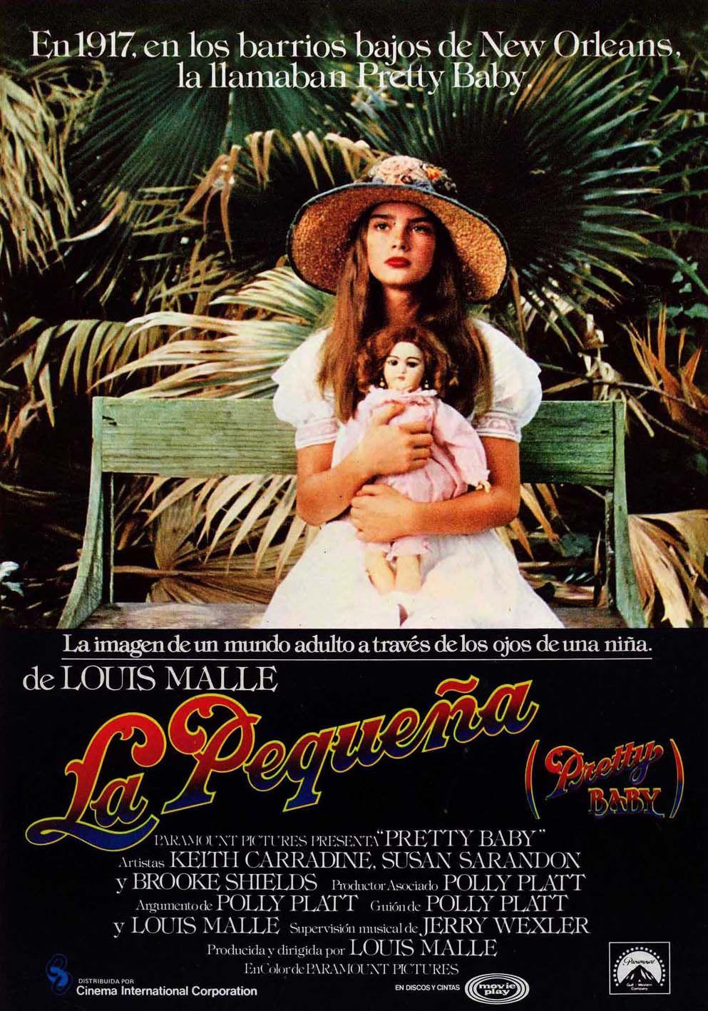 Pretty Baby 1978 La Pequena Nina Bonita Carteles De Cine Carteles De Peliculas Peliculas