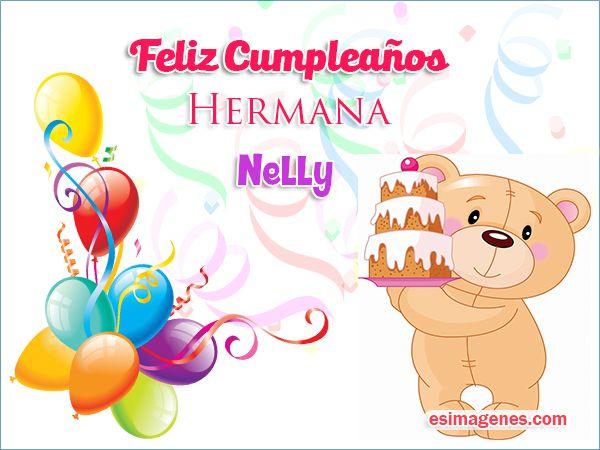 Feliz cumpleaños Nelly Imágenes Tarjetas Postales con Nombres Feliz Cumpleaños Katy