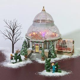 """Department 56: Products - """"Crystal Gardens Conservatory"""" - View Lighted Buildings wish list"""