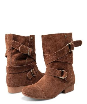 This Brown Chic Flick Boot by Volcom is perfect! #zulilyfinds