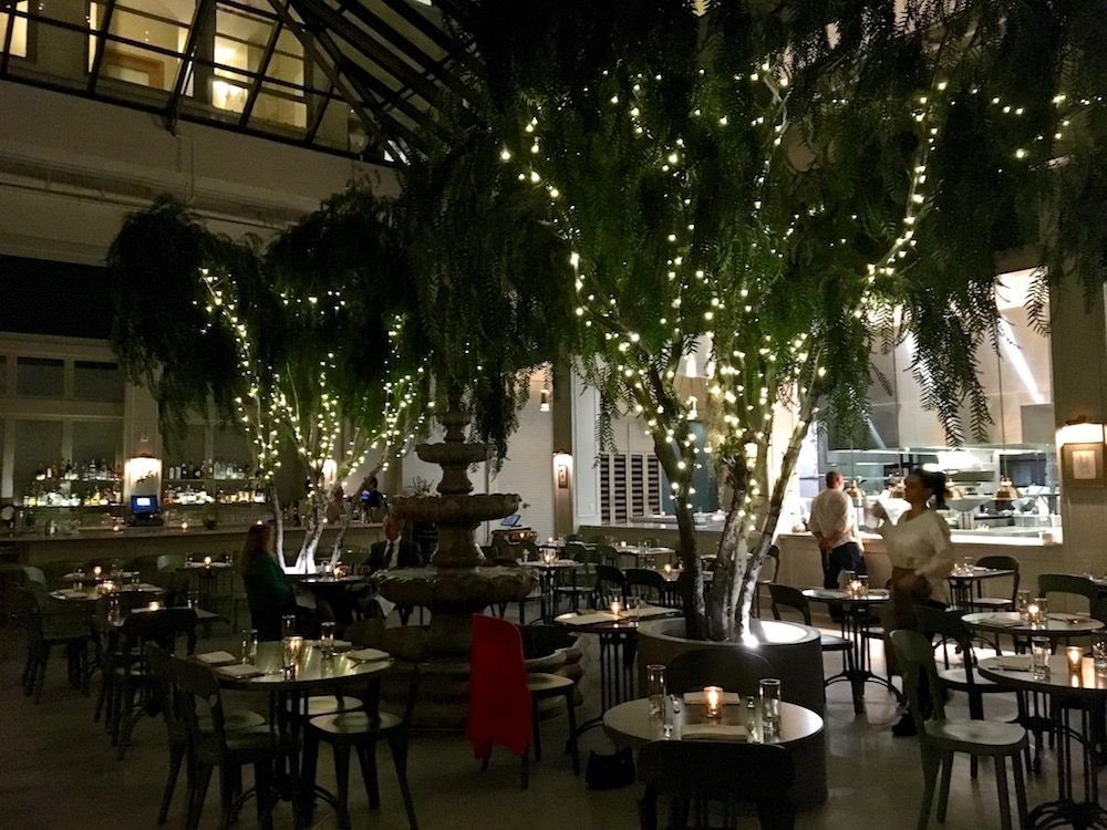 Beautiful Interior Of Spring Restaurant Downtown La Tastingpage
