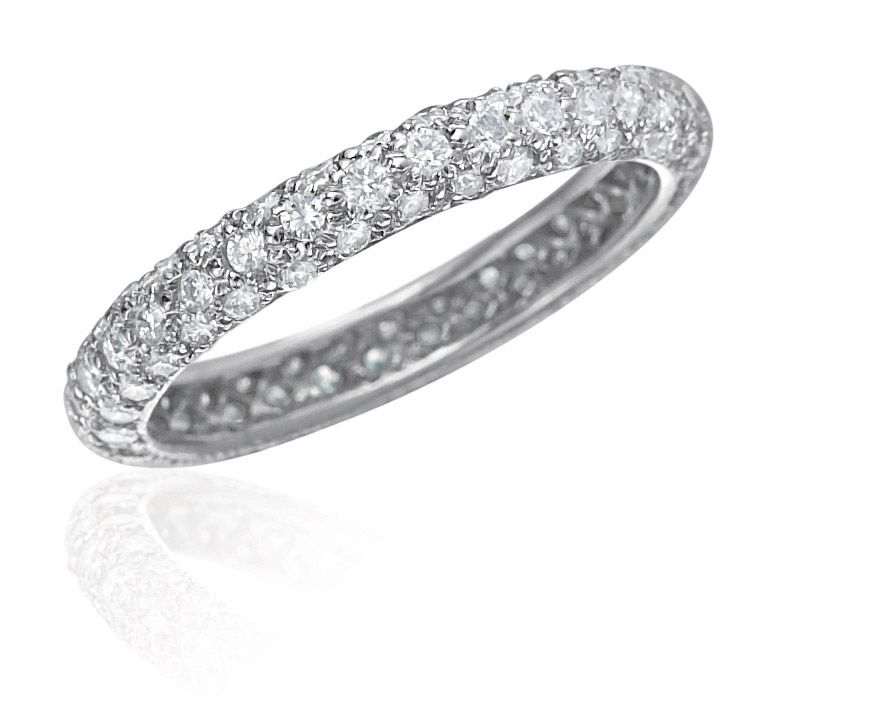 How Do You Feel About Pave And Micro Wedding Bands TWO By LONDON Has