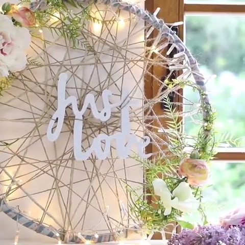 Photo of 3 creative DIY's for weddings, birthdays or garden parties