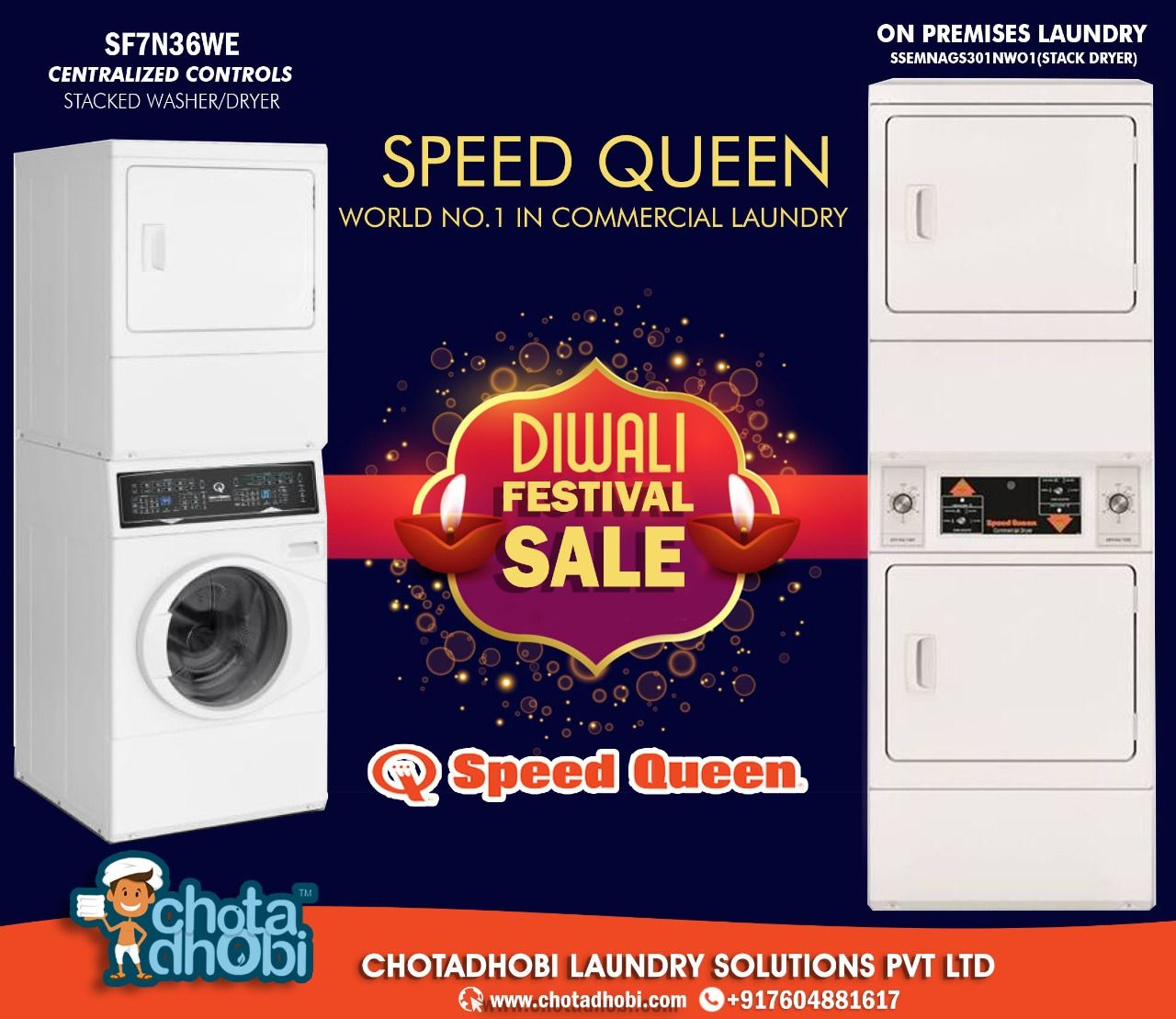 Shop Imported Speed Queen Laundry Machines On This Special Diwali