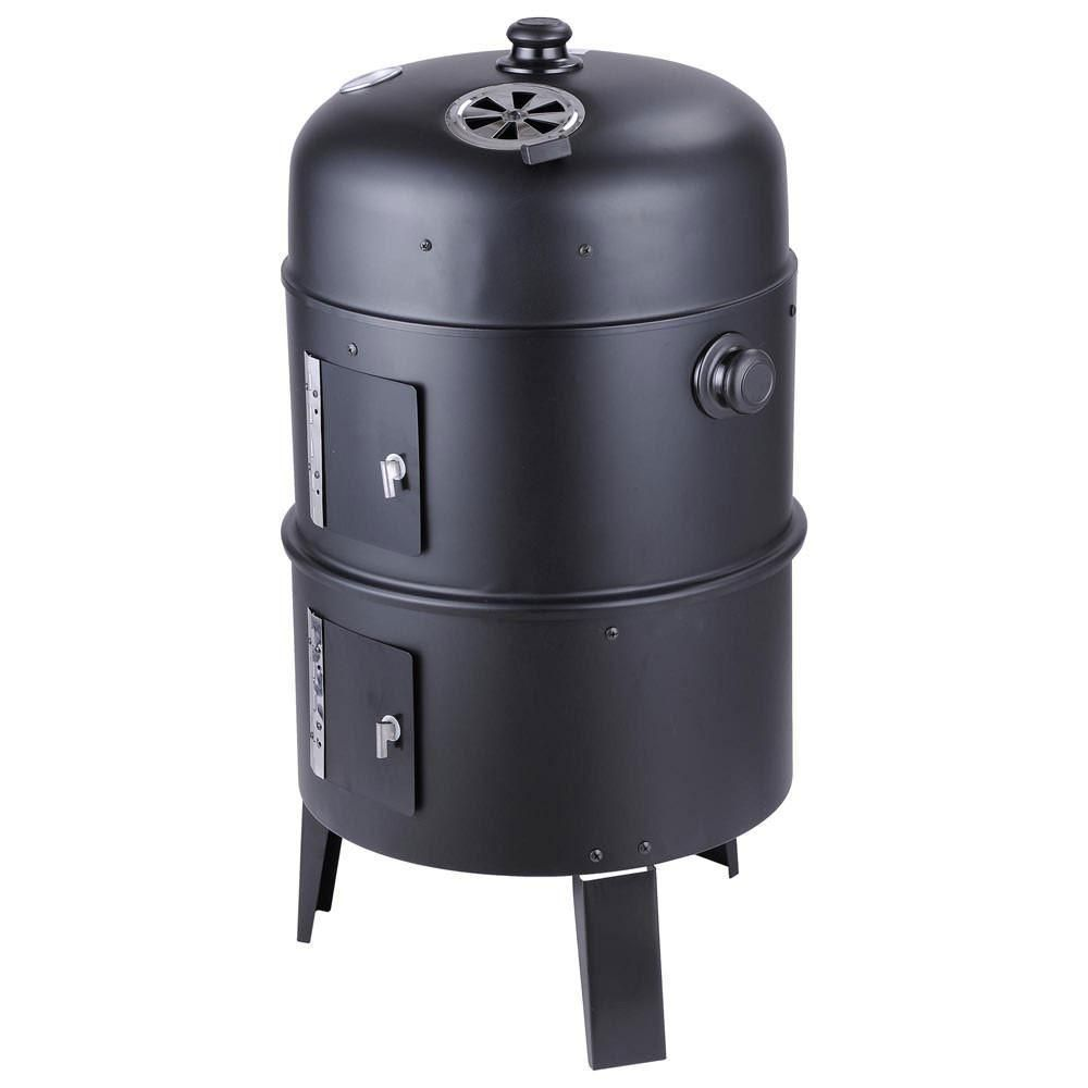 Charcoal smoker theres nothing like food done the