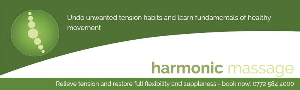 massage edinburgh A unique, state of the art, massage and movement based way of treating soft tissue problems.  re-abilitate your body by undoing unwanted tension habits and learn to move with minimal effort. http://www.harmonicmassage.co.uk/