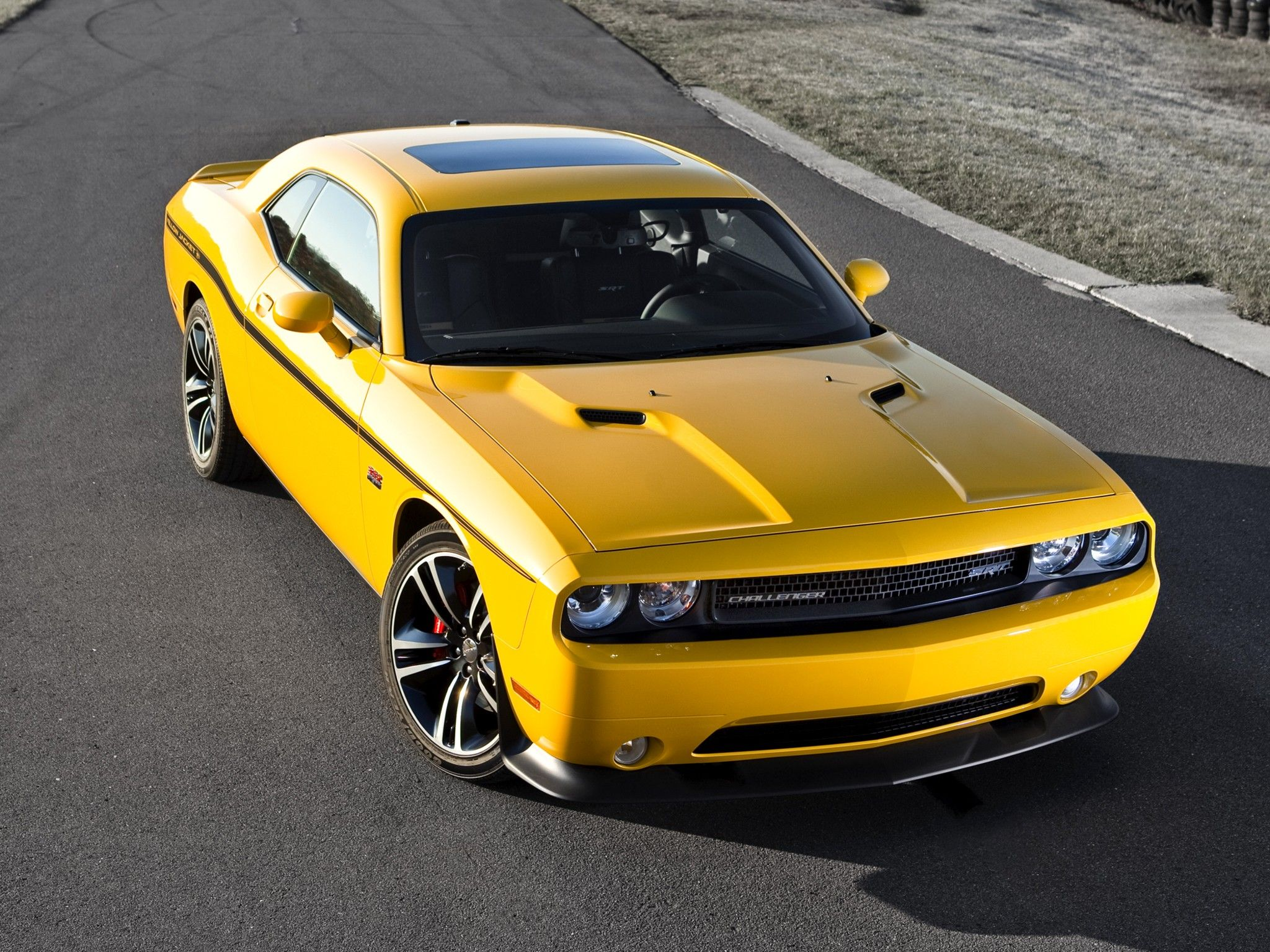 2012 Dodge Challenger Srt8 392 Yellow Jacket Challenger Srt8