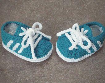 Newborn Adidas Crochet Baby Shoes 100 Cotton Scarpine Neonato