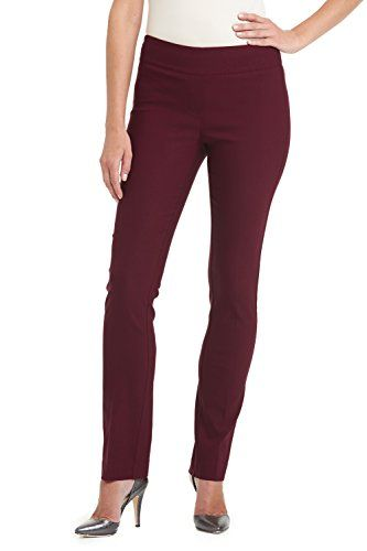 98905928ea1 Rekucci Ease In To Comfort Fit Straight Leg Pant With Tummy Control   You  can find more details by visiting the image link.