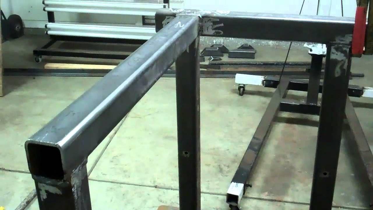 Building A Welding Table Weld Welding Welder Table