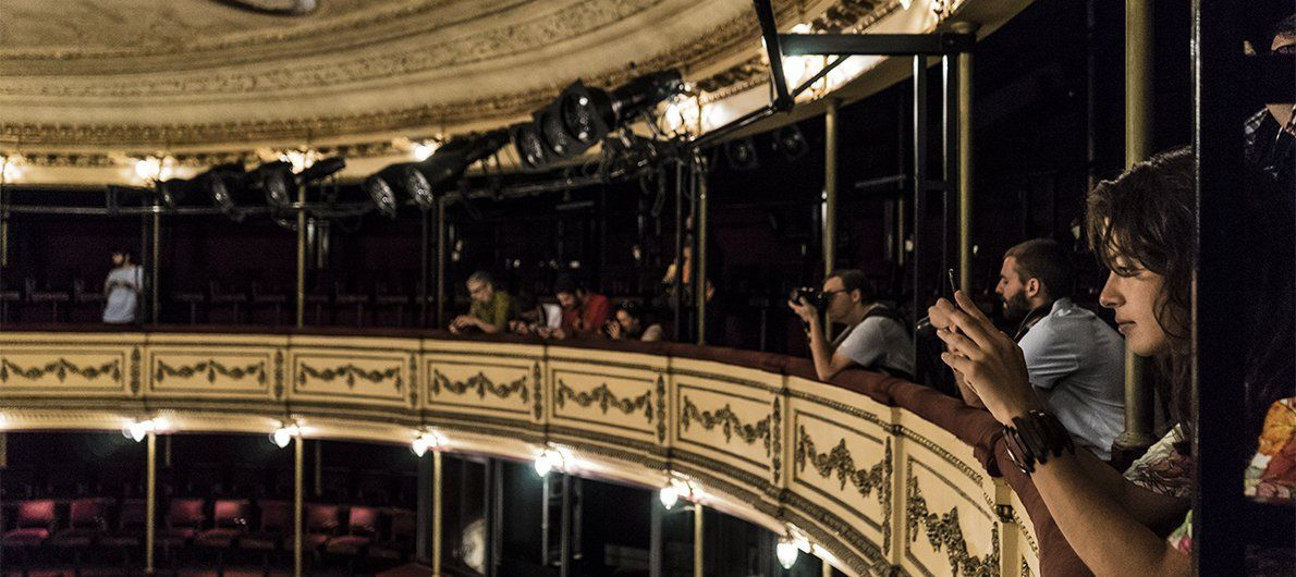 The grand Teatro Solis is as glorious a theater as any you would find in Europe.