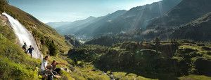 Bergwandelen op de Adlerweg in Tirol © Österreich Werbung / Peter Burgstaller