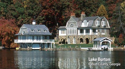 Lake Burton Google Search Lake House Boathouse Design