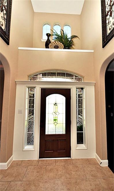 Niche Decor Idea For Over The Front Door Niche Decor Doorway