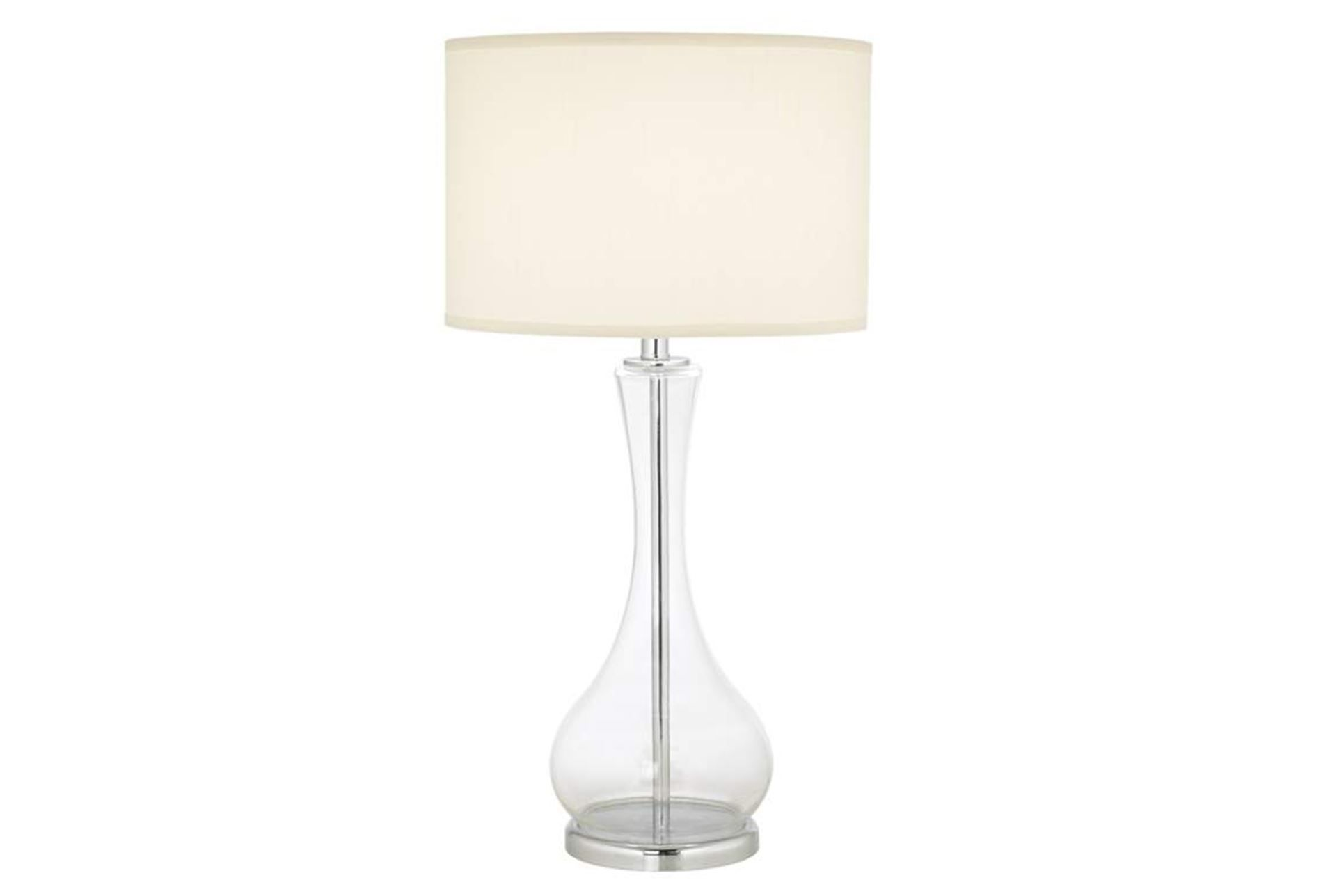 Table lamp crystal clear room white oak and bedrooms make your room go from drab to fab with the crystal clear table lamp a aloadofball Image collections