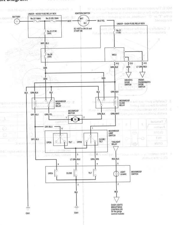 15  2003 Town Car Sunroof Wiring Diagram