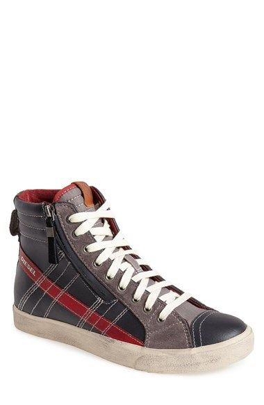Diesel D-Velows D-String Blue Casual Sneakers outlet fake countdown package b7aqrLBB5Q