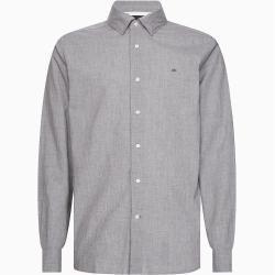 Photo of Calvin Klein Meliertes Hemd aus Baumwoll-Popeline Xxl Calvin KleinCalvin Klein