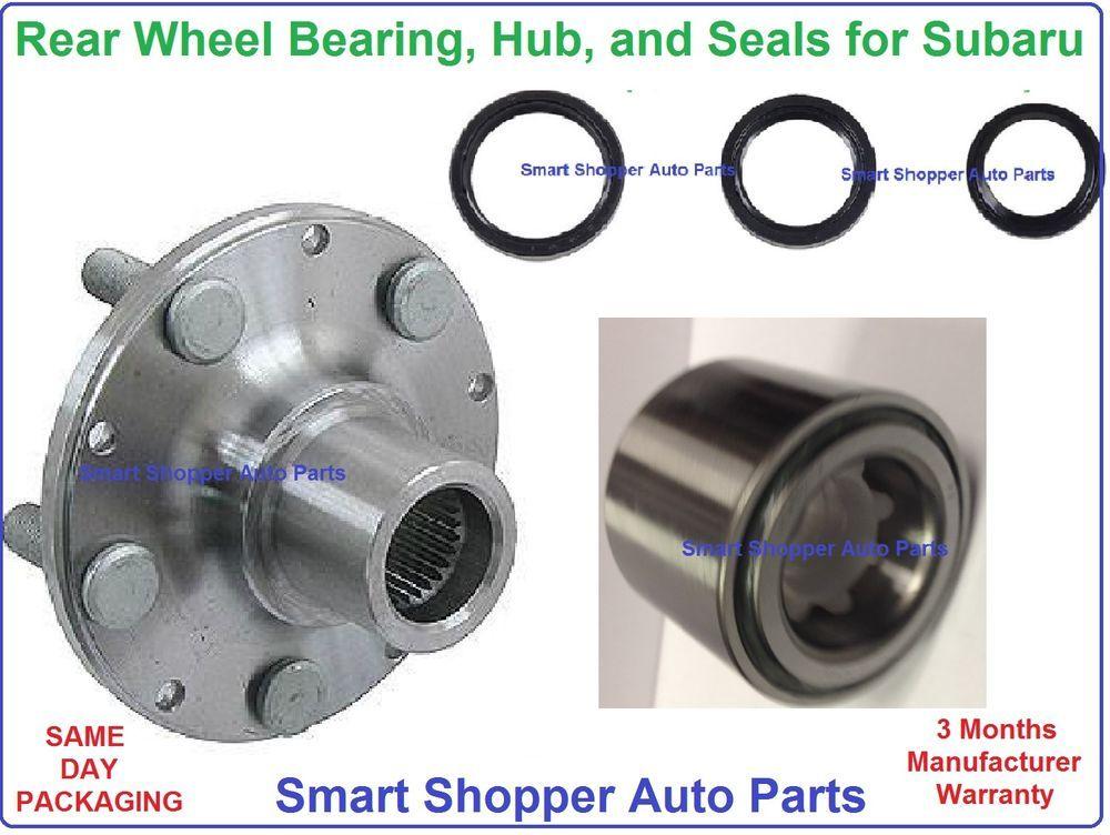 Rear Bearing Hub Seals 1998 2008 Subaru Forester 1990 1999 Legacy 93 Impreza Subaru Fuel Efficient Interesting Things