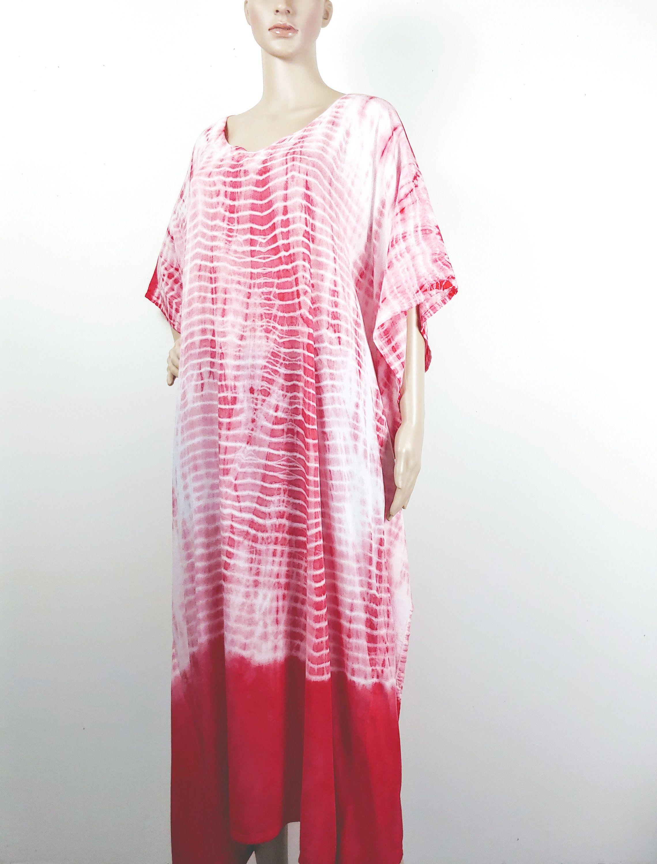 Summer Dress Quality Rayon Caftan Size fits Small to XL Maxi Dress Tie Dye Caftan Free Shipping Summer kaftan Hand Tie dye  Kaftan