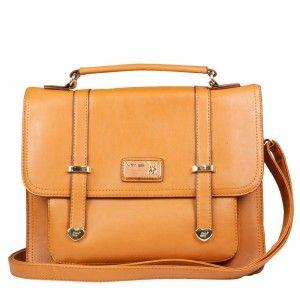 Bolsa Betty BoopBP2602Caramelo feita em couro ecológico PVC com alça de Mão e Transversal Ajustável Removível. Dimensões:  A 23 cm L 30 cm P 11 cm