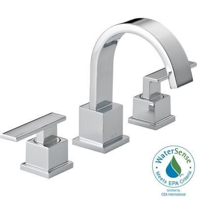 Delta Vero 8 in. Widespread 2Handle Bathroom Faucet with