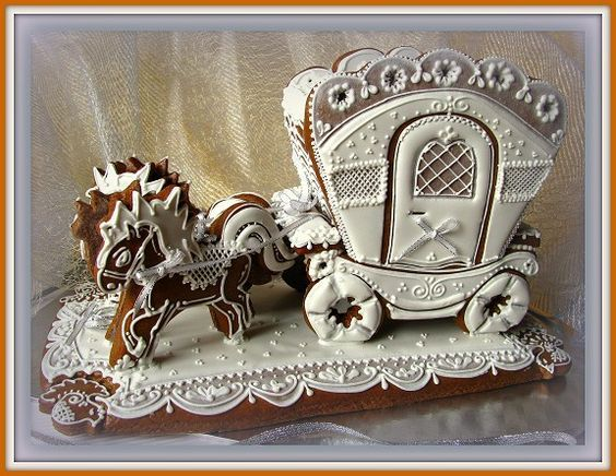amazing gingerbread art: