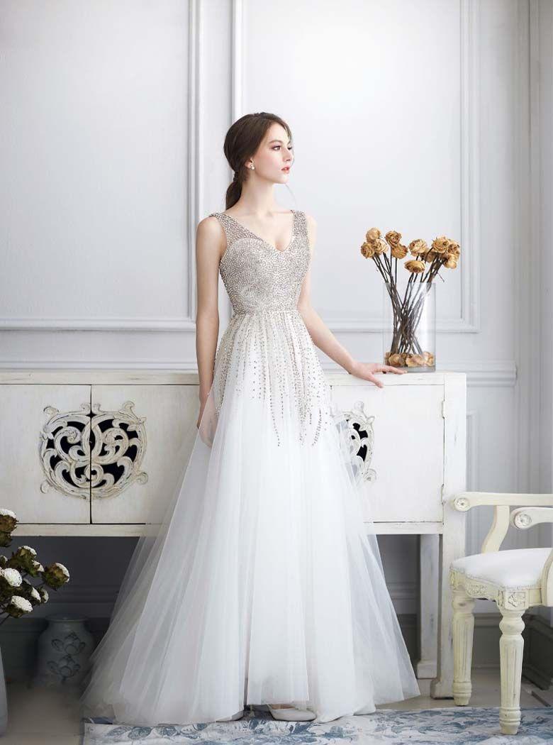 Modern bridal dresses vestidos diversos pinterest bridal