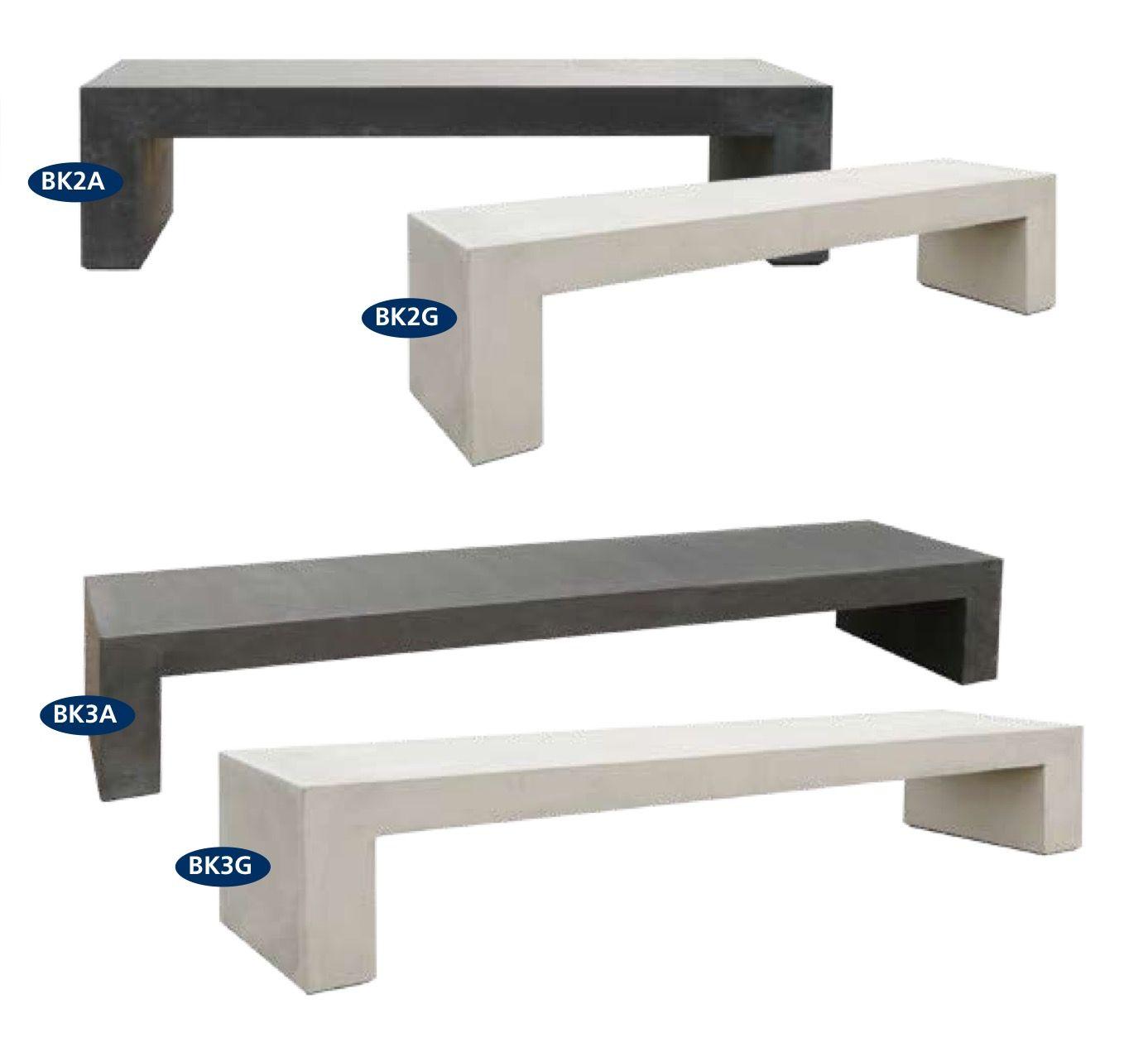 bank onder houtkachel - 180x45x45 cm / 300x80x45 cm - bs beton (http