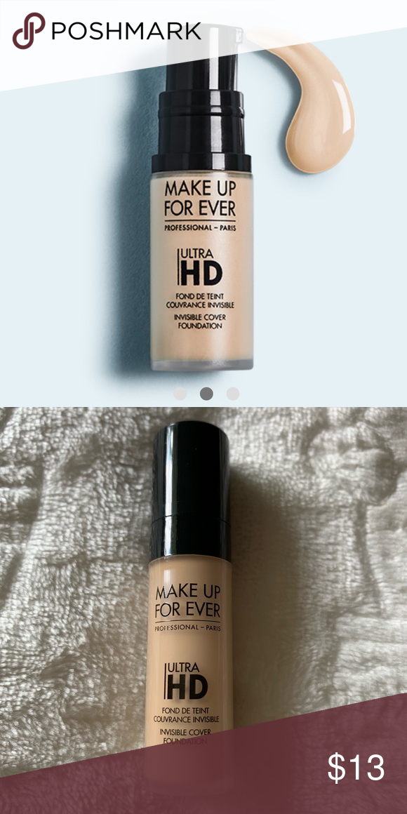 ⭐️3/25 Makeup Forever Ultra HD Foundation Y225 Makeup