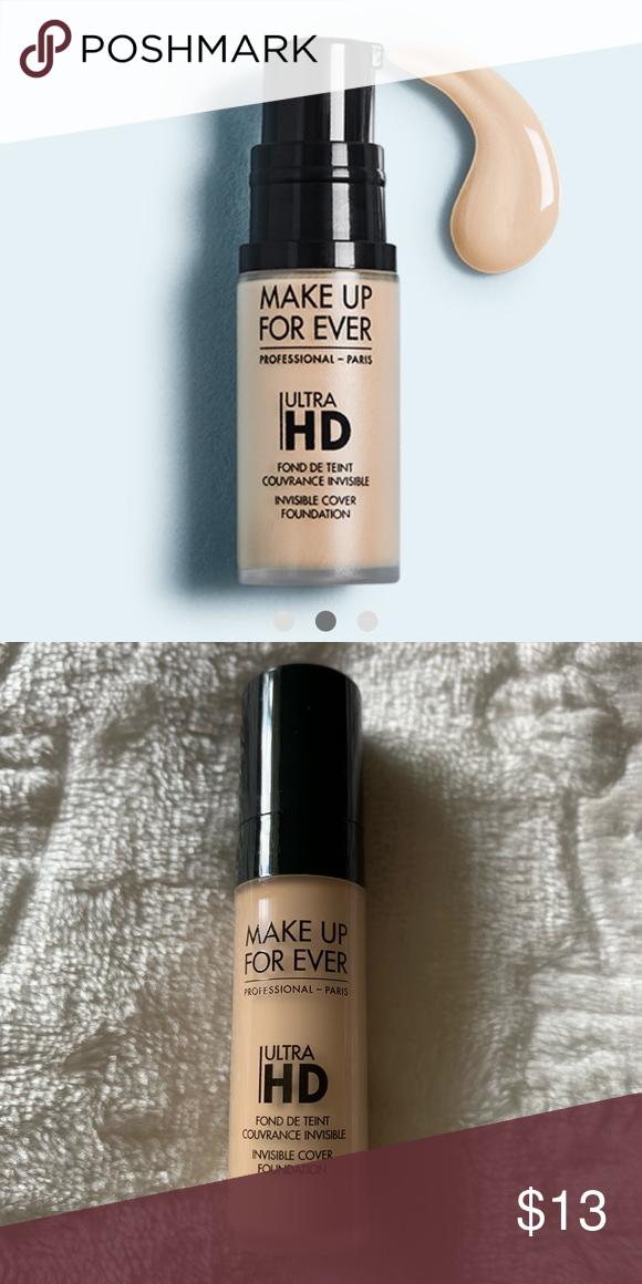 ⭐️3/25 Makeup Forever Ultra HD Foundation Y225 Makeup