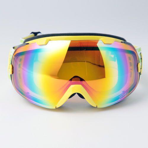 NEW SKI Glasses Snowboard Goggles Double Lens Antifog UV400 Polycabonate 2800YE | eBay
