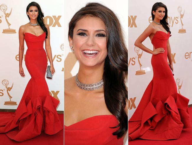 Nina Dobrev (Vampire Diaries) in this ultra body-hugging, to-die ...
