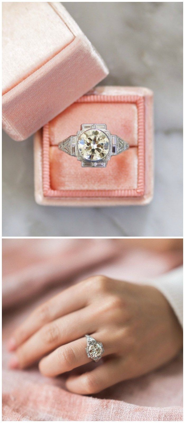 12 vintage engagement rings from Victor Barbone. | Engagement ...