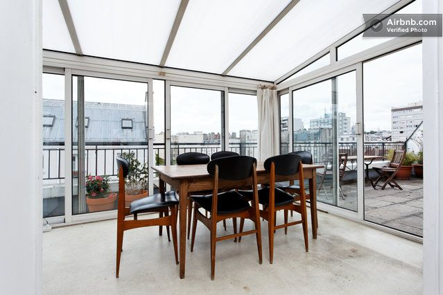 Penthouse And Terrace In Montmartre In Paris Terrace Pent House