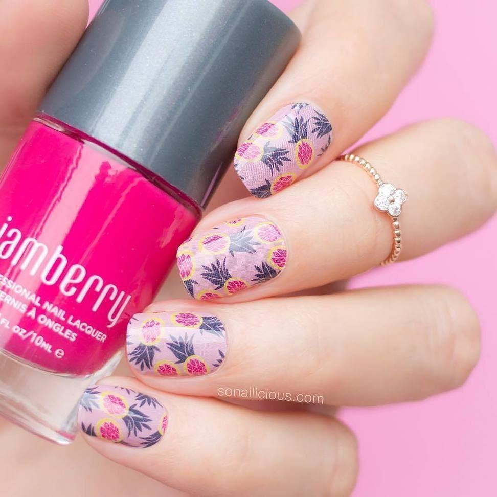 Calypso nail wrap and KISS nail lacquer | Jamberry | Nails ...