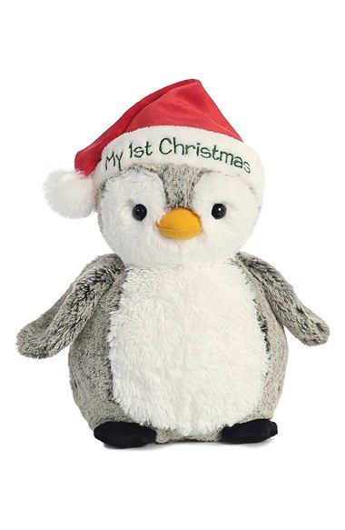 Aurora World Toys My First Christmas Stuffed Penguin Available At