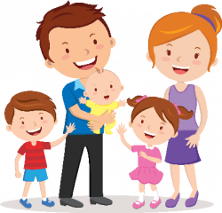 Clip art free printable. Family clipart | Ilustração de bebê ...