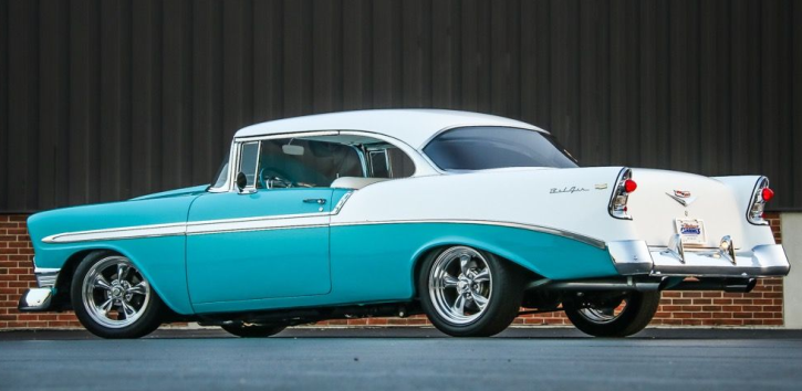 1956 Chevy Bel Air 350 Custom | Beautiful Beast