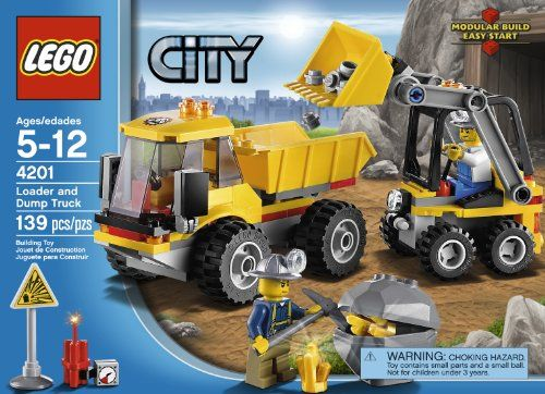 LEGO City 4201 Loader and Tipper LEGO,http://www.amazon.com/dp ...