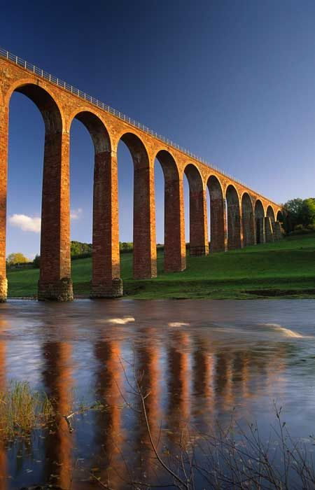 Leaderfoot Viaduct, Scottish Borders, Scotland