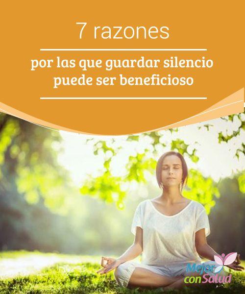 Beneficios del silencio para la salud