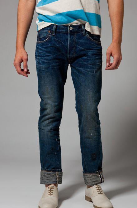 b817403e LVC: Levi's Vintage Clothing 1955 501 Jeans in Pitchfork 2 | Denim ...