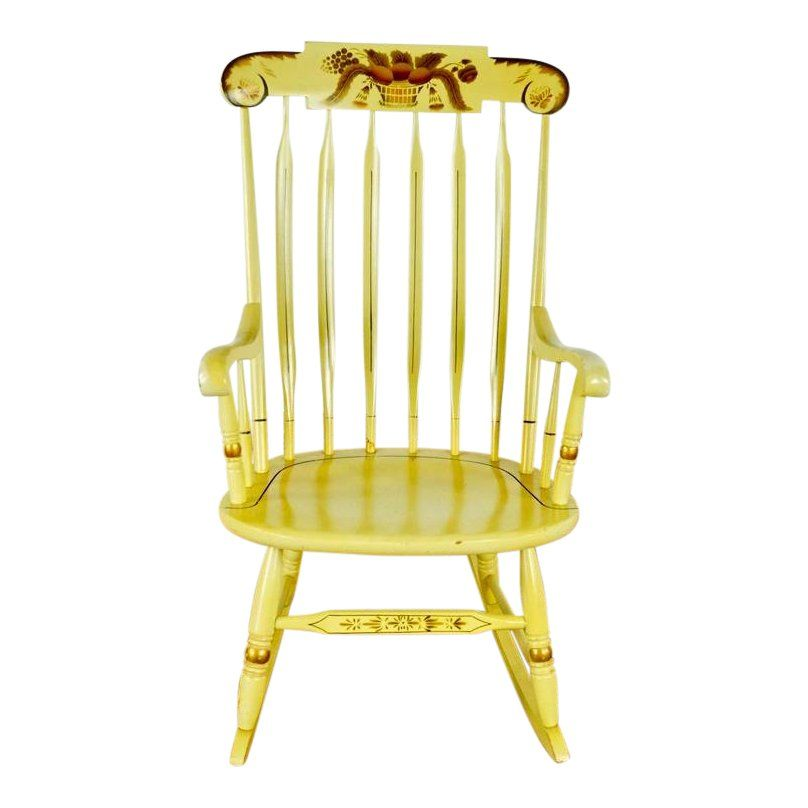 Yellow Rocking Chair Image 1 Of 5 49 Dollars Rocking Chair