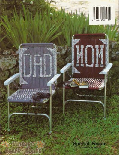 Macrame Lawn Chair Instructional Video Bill Parsons