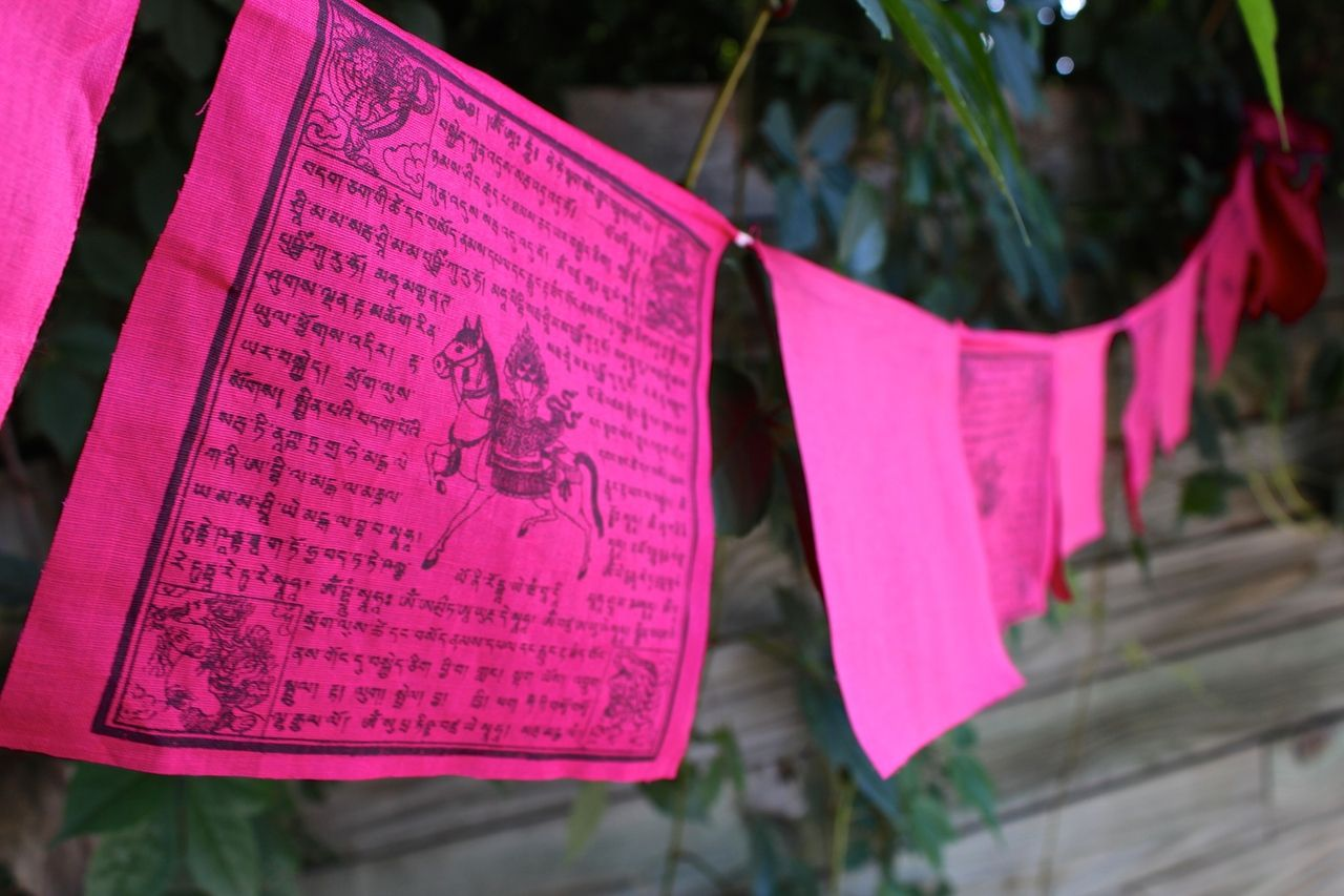 Dharmashop.com - Pink Prayer Flags For Cancer Charity , $17.00 (http://www.dharmashop.com/pink-prayer-flags-for-cancer-charity/)