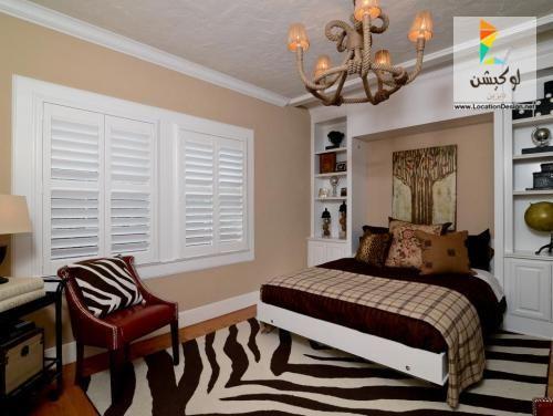 احدث كتالوج صور غرف نوم صغيرة الحجم ب 50 فكرة لإستغلال ضيق المساحة لوكشين ديزين نت Eclectic Bedroom Zebra Print Bedroom Modern Bedroom Design